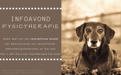 Infoavond Fysiotherapie 14/03/2019